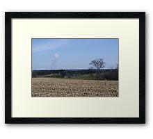 Byron Nukes Framed Print