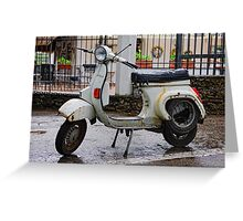 The latest model, Ravello, Amalfi Coast, Campania, Italy Greeting Card
