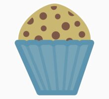 Chocolate Chip Muffin One Piece - Long Sleeve