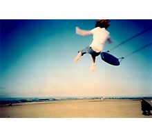 Lomo - And then you let go... Photographic Print