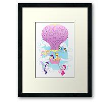 Balloon Buddies Framed Print