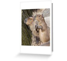 Cute Capys Greeting Card