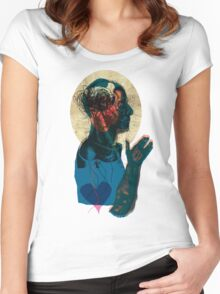 love streams - valentine day Women's Fitted Scoop T-Shirt