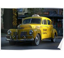 Taxi Anyone Poster