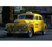 Taxi Anyone Photographic Print