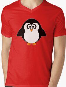 Penny Penguin Mens V-Neck T-Shirt