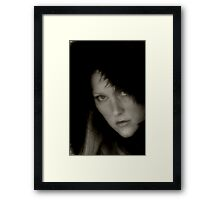 Tauntingly Contemptuous Framed Print
