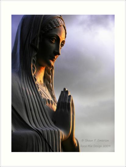 Say a Prayer (Madonna statue) by rocamiadesign