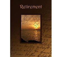 Retirement Card Photographic Print