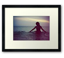 Lost At Sea Framed Print