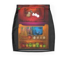 Rothko Refrigerator Mini Skirt