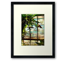 Hanging Out Orchid Style Framed Print
