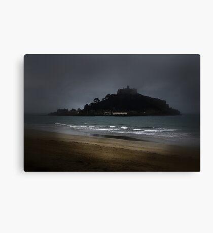 Misty Mount. Canvas Print