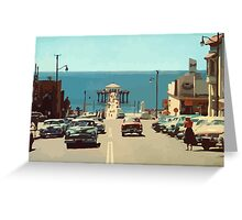 Busy Street Greeting Card