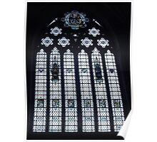 A Window In Bristol Cathedral Poster