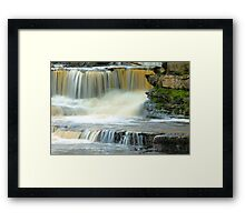 Touch of Water Framed Print