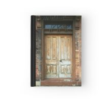 Old Door Hardcover Journal