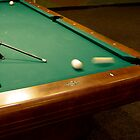 Pool Shark - #1 Ball, Corner Pocket by Buckwhite