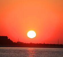 Atlantic Beach Sunset by Stormy Brannan