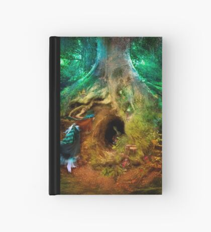 Down the Rabbit Hole Hardcover Journal