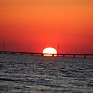 Atlantic Beach Bridge by Stormy Brannan