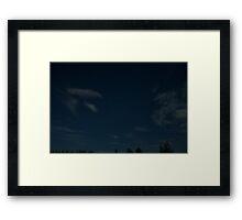 Constellation Cassiopeia Framed Print