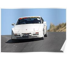 PORSCHE 944 S2 - OVER THE HUMP Poster