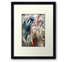 Previous life visions Framed Print