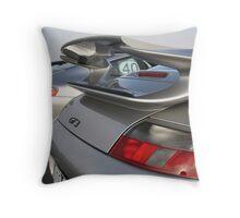 PORSCHE GT3 - SILVER(whale)TAILS! Throw Pillow