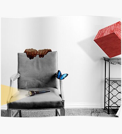 THE ARMCHAIR AND THE BUTTERFLY Poster