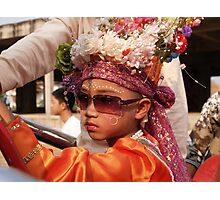 Young Shan boys Photographic Print