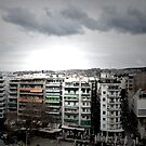 clouds over Thessaloniki by anarhitect