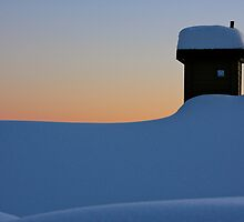 'Big white' roof tops by Steve Giddings
