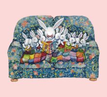bunny bed time One Piece - Long Sleeve