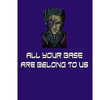 AYBABTU ~ All Your Base Are Belong To Us ~ t shirt Photographic Print