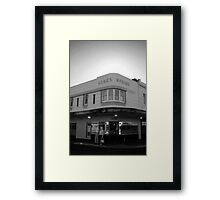 Luck's Corner Framed Print