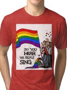LOVE WINS Tri-blend T-Shirt