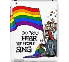 Les Mis - Love Wins iPad Case/Skin