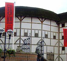 Shakespeares Globe Theatre, London, Uk by artfulvistas