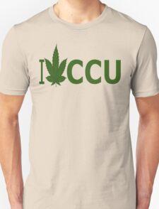 0267 I Love CCU T-Shirt
