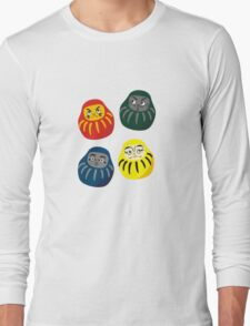 Hogwarts Daruma Long Sleeve T-Shirt