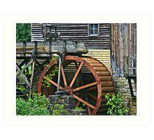 Big Wheel Keep on Turning Art Print