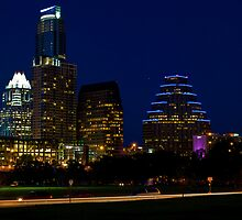 An Austin Spring Night by Roschetzky