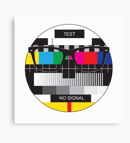 Retro Geek Chic - Headcase Canvas Print