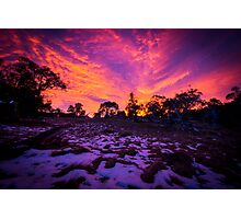 Sunrise at Thredbo Photographic Print
