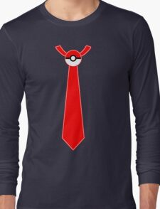 Pokeball Tie Tee Long Sleeve T-Shirt