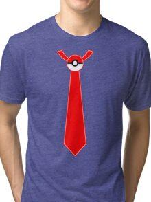Pokeball Tie Tee Tri-blend T-Shirt