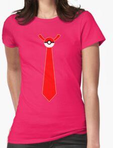 Pokeball Tie Tee Womens Fitted T-Shirt
