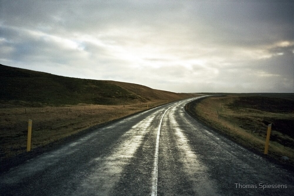 Lomo - Road nr. 1 by Thomas Spiessens