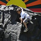 Climbing Rock by AuntieJ